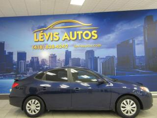 Used 2008 Hyundai Elantra GL MANUEL AIR CLIMATISE BANC CHAUFFANT G for sale in Lévis, QC