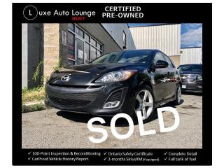 Used 2011 Mazda MAZDA3 GS AUTO, SUNROOF, BLUETOOTH, ALLOYS, A/C, LOADED! for sale in Orleans, ON