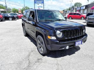 Used 2015 Jeep Patriot ALTITUDE 4X4  NAVIGATION for sale in Windsor, ON