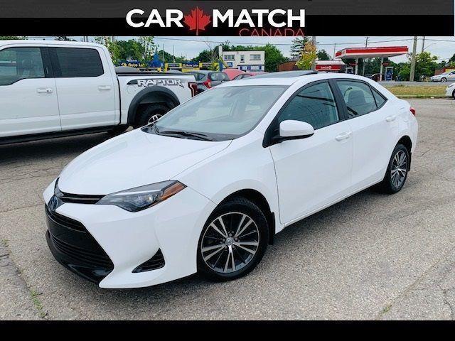 2018 Toyota Corolla LE / SUNROOF / ALLOY'S