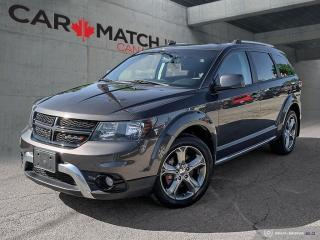 Used 2016 Dodge Journey CROSSROAD / AWD / NAV / DVD / NO ACCIDENTS for sale in Cambridge, ON
