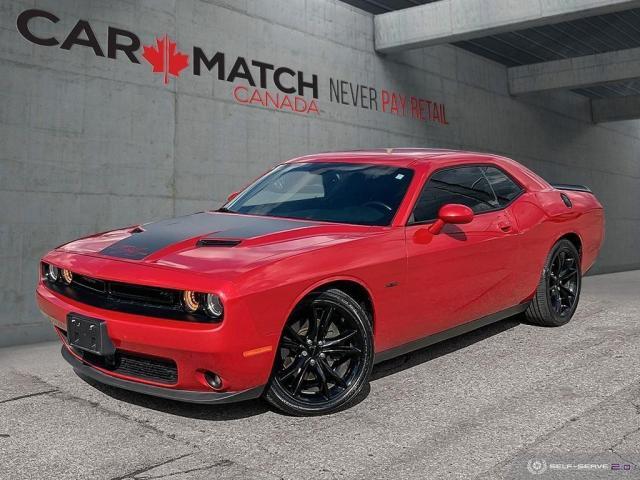 2016 Dodge Challenger R/T / LEATHER / NAV / 87762 KM