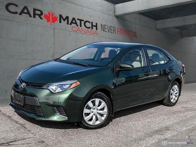 2016 Toyota Corolla LE / AUTO / NO ACCIDENTS
