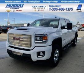 Used 2019 GMC Sierra 2500 HD SLT/ TOW PKG/ HEATED LEATHER/ SUNROOF/ LOW KMS/ LO for sale in Estevan, SK