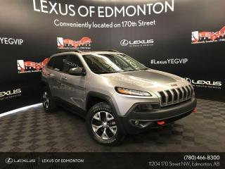 Used 2018 Jeep Cherokee Trailhawk Leather Plus for sale in Edmonton, AB