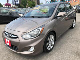 Used 2013 Hyundai Accent GLS for sale in Scarborough, ON