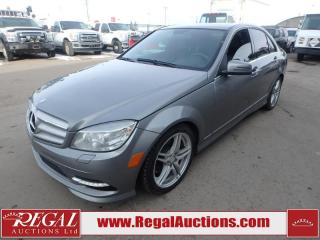 Used 2011 Mercedes-Benz C-Class C300 4D Sedan 4MATIC AWD 3.0L for sale in Calgary, AB