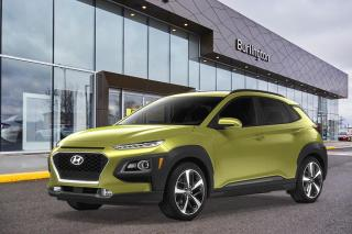 New 2020 Hyundai KONA 1.6T AWD Ultimate Lime Color Pack for sale in Burlington, ON