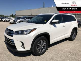 Used 2017 Toyota Highlander XLE AWD | 7 Passenger | V6 | for sale in Winnipeg, MB