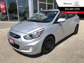 Used 2017 Hyundai Accent SE Bluetooth | Heated Seats | Sunroof | for sale in Winnipeg, MB