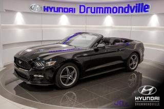 Used 2017 Ford Mustang PREMIUM + GARANTIE + SHOWROOM + NAVI + W for sale in Drummondville, QC