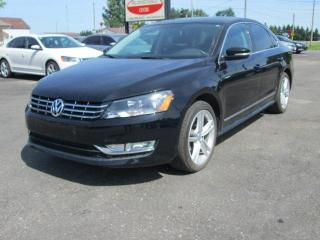Used 2014 Volkswagen Passat 2.0L TDI SE AUTOMATIC for sale in Alvinston, ON