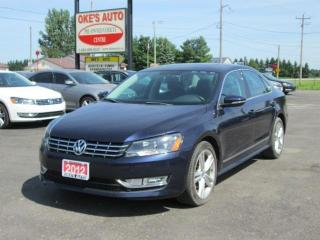 Used 2012 Volkswagen Passat 2.0L TDI SE AUTOMATIC for sale in Alvinston, ON