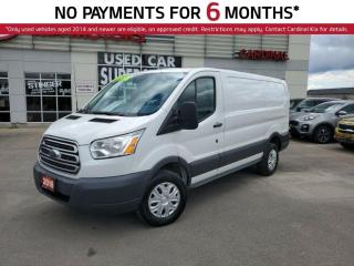 Used 2016 Ford Transit 250 LOW Roof, Reverse Camera, A/C, Power Locks. for sale in Niagara Falls, ON