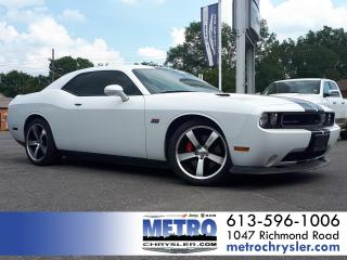 Used 2012 Dodge Challenger SRT8 392 MINT LOW KMs for sale in Ottawa, ON