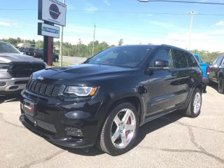 Used 2017 Jeep Grand Cherokee 6.4L SRT 4WD 1-Owner Trade-IN!! for sale in Sudbury, ON