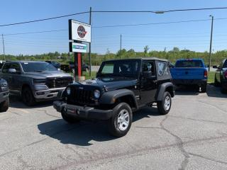Used 2018 Jeep Wrangler 3.6L Sport 4WD 1-Owner Lease Return!! for sale in Sudbury, ON
