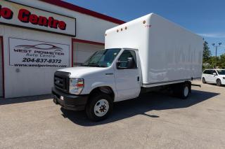 Used 2019 Ford E450 Cutaway E450 *16' BOX*RAMP*FINANCE OR LEASE* for sale in Winnipeg, MB
