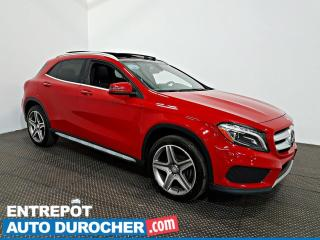 Used 2017 Mercedes-Benz GLA GLA 250 AWD NAVIGATION - Toit Ouvrant - A/C - for sale in Laval, QC