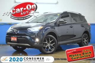 Used 2018 Toyota RAV4 SE AWD LEATHER NAV SUNROOF REAR CAM ADAPTIVE CRUIS for sale in Ottawa, ON