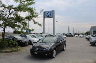 Used 2014 Volkswagen Golf Wagon 2.0TDI Wolfsburg Edition for sale in Whitby, ON
