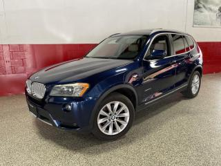 Used 2011 BMW X3 35i 6 CYL CLEAN CARFAX PANO-ROOF BLUETOOTH for sale in North York, ON