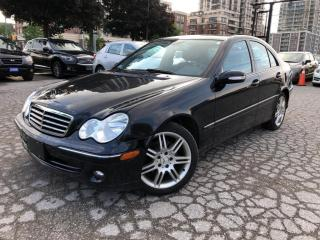 Used 2007 Mercedes-Benz C-Class 4dr Sdn 3.0L 4MATIC AVANTGARDE / LADY DRIVEN for sale in Markham, ON