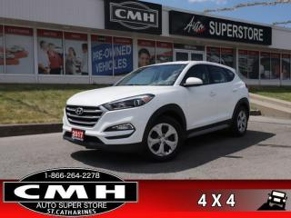 Used 2017 Hyundai Tucson SE  AWD REAR-CAMERA HTD-SEATS BLUETOOTH for sale in St. Catharines, ON