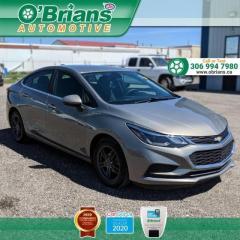 Used 2017 Chevrolet Cruze LT for sale in Saskatoon, SK