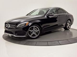 Used 2015 Mercedes-Benz C-Class C 400 4MATIC GPS TOIT MAGS AMG for sale in Brossard, QC