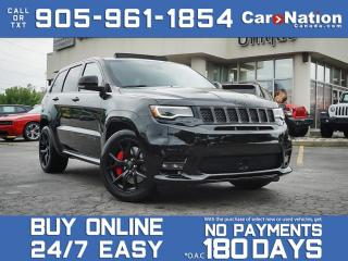 Used 2020 Jeep Grand Cherokee SRT| PANO ROOF| SHOP FROM HOME| for sale in Burlington, ON