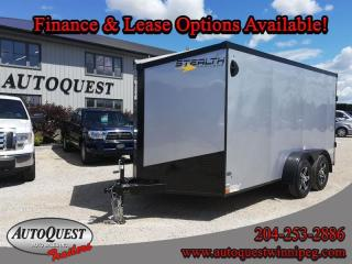 Used 2021 Stealth Cargo Trailer 7' x 14' V-Nose for sale in Winnipeg, MB