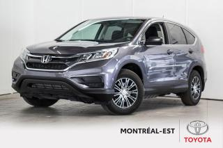 Used 2016 Honda CR-V LX for sale in Montréal, QC