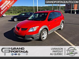Used 2004 Pontiac Vibe Familiale 4 portes à traction avant for sale in Rivière-Du-Loup, QC