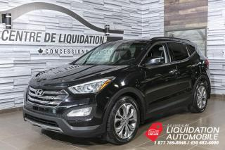 Used 2014 Hyundai Santa Fe Sport LIMITED+MAGS+A/C+TOIT+CAM/REC+BLUETOOTH for sale in Laval, QC