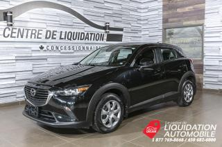 Used 2018 Mazda CX-3 GX+AWD+A/C+CAM/REC+BLUETOOTH for sale in Laval, QC