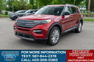 New 2020 Ford Explorer LIMITED for sale in Okotoks, AB