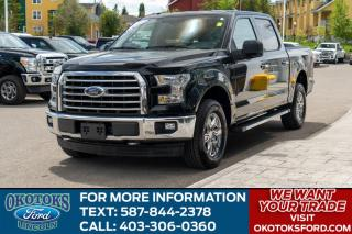 Used 2017 Ford F-150 XLT 302A/5.0L V8/FX4/TAILGATE STEP/BRAKE CONTROLER/SYNC CONNECT/ for sale in Okotoks, AB