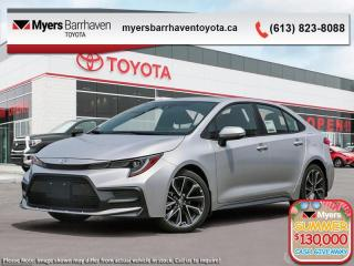 New 2020 Toyota Corolla SE  - Upgraded Motor -  Aerodynamics - $154 B/W for sale in Ottawa, ON