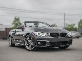Used 2015 BMW 4 Series 435i xDrive I MSPORT | CONVERTIBLE  | GREY ON RED for sale in Toronto, ON
