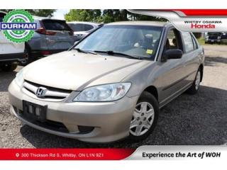 Used 2004 Honda Civic 4dr Sdn DX-G Auto for sale in Whitby, ON
