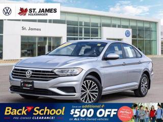 New 2020 Volkswagen Jetta Comfortline, Clean Carfax, Backup Camera, Apple Carplay for sale in Winnipeg, MB