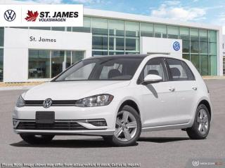 New 2020 Volkswagen Golf COMFORTLINE for sale in Winnipeg, MB