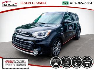 Used 2017 Kia Soul SX* TURBO* GPS* CUIR* TOIT PANO* for sale in Québec, QC