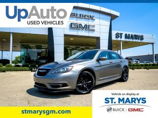 Used 2013 Chrysler 200 S for sale in St. Marys, ON