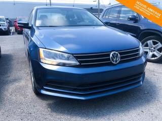 Used 2016 Volkswagen Jetta RESERVÉ Trendline1.4 TSI + Caméra + Bluetooth for sale in Québec, QC