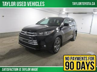 Used 2018 Toyota Highlander Limited Low Kilometers!!Loaded!! for sale in Regina, SK