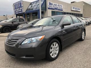 Used 2009 Toyota Camry HYBRID AUTOMATIC|BLUETOOTH|ALLOYS for sale in Concord, ON