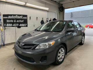 Used 2013 Toyota Corolla 4DR SDN MAN CE for sale in St-Raymond, QC