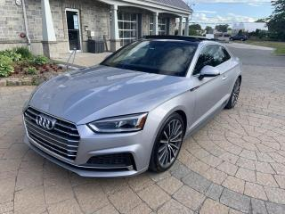 Used 2018 Audi A5 Technik 2.0 TFSI quattro BM for sale in St-Eustache, QC